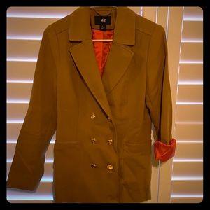 H&M camel colored blazer